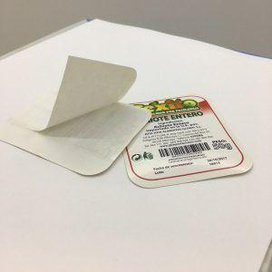etiquetas con microcorte